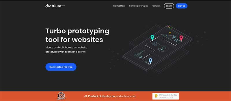 Cómo hacer un prototipo de una página web GRATIS Draftium