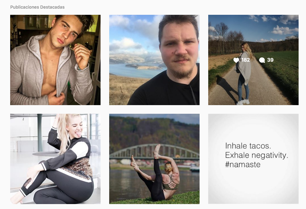 Post Destacados de Fitness