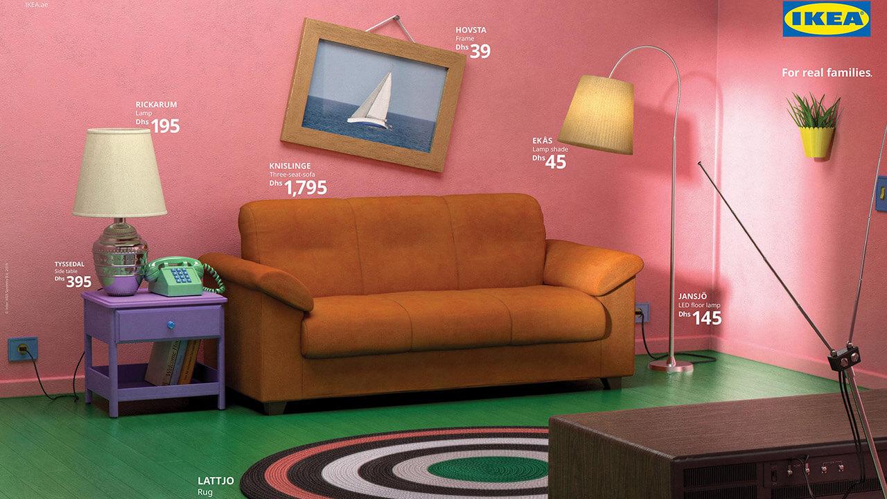 Ikea se cuela en las Series míticas de TV