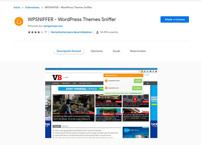 WordPress Sniffer