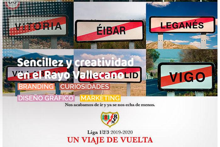 Sencillez y creatividad en el Rayo Vallecano