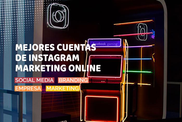 Mejores Cuentas en Instagram de Marketing