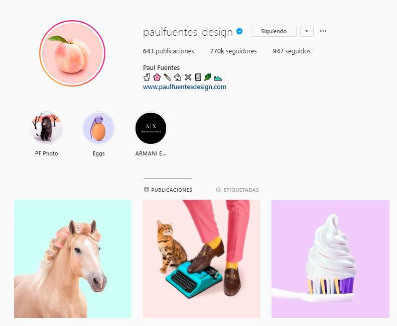 Paul Fuentes Design en Instagram