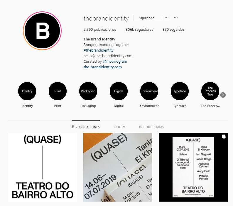 The Brand Identity @thebrandidentity