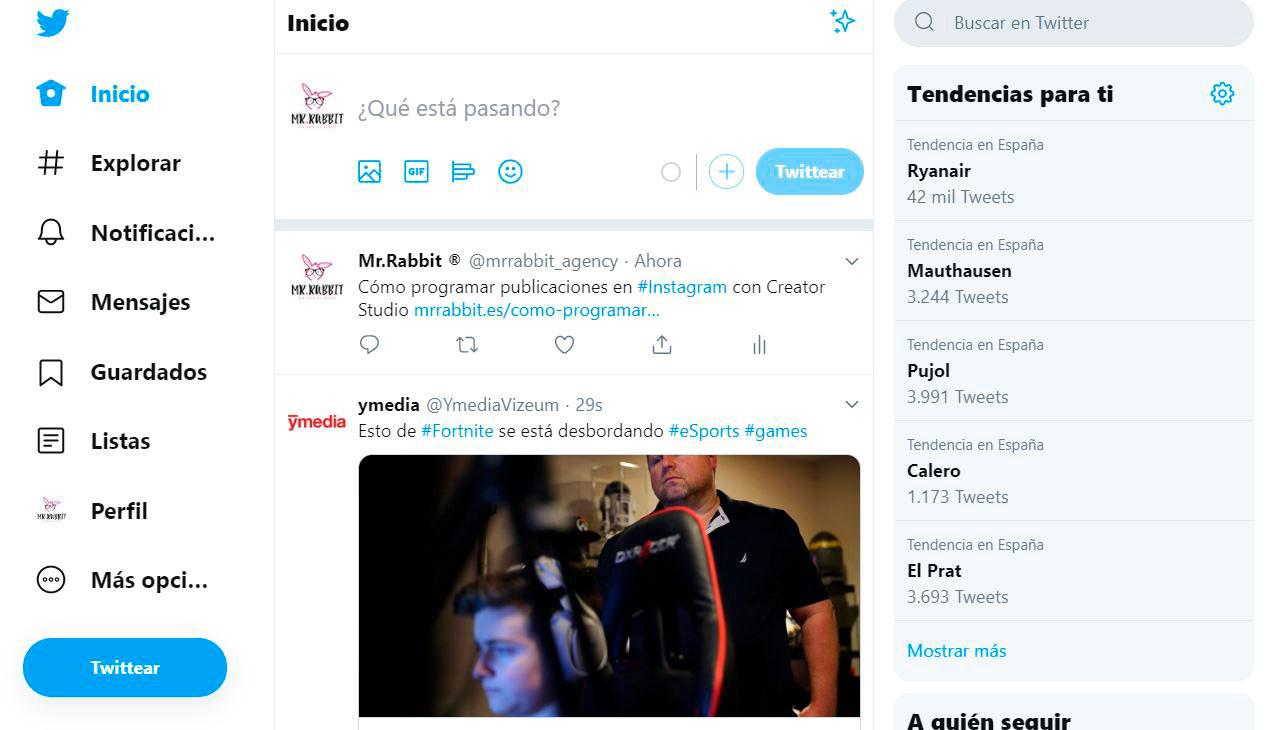 Enlace DoFollow en Twitter