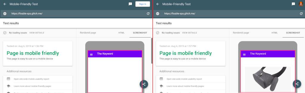 Mobile First Googlebot