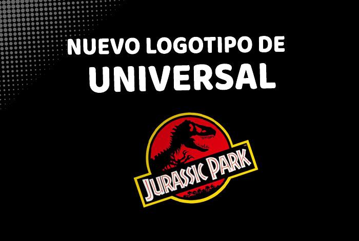 El logotipo de Universal Pictures se transforma en Jurassic Park