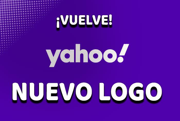 Yahoo vuelve de forma inesperada con un nuevo logo