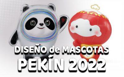Diseño magistral de las Mascotas de los JJOO Pekin 2022