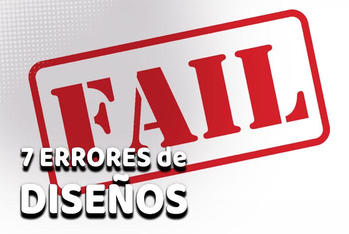 7 fallos de diseños