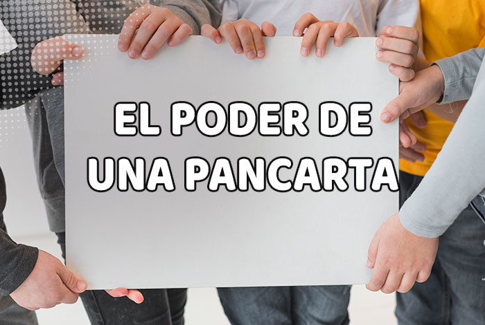 El poder de una lona en marketing