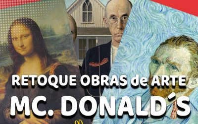 McDonald's retoca obras de arte
