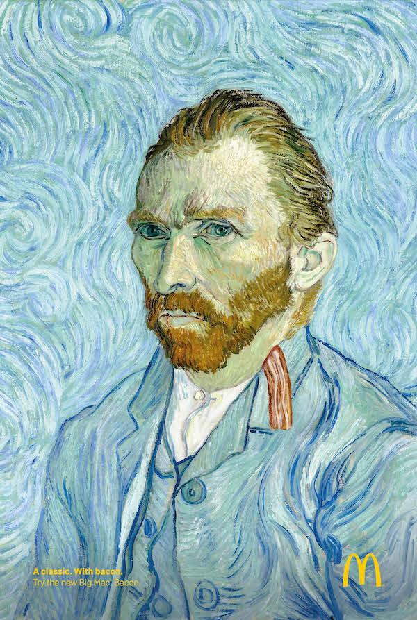 Vincent Van Gogh Mcdonalds