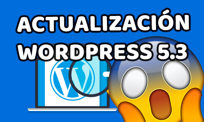 Actualización WordPress 5.3