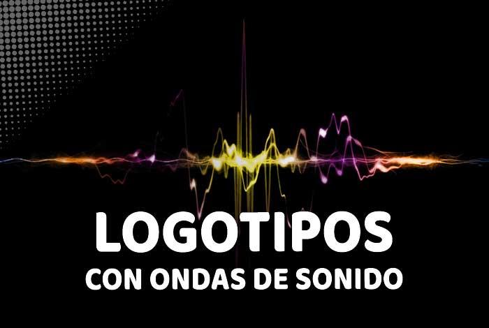 Logotipos BRUTALES hechos con ondas de sonido