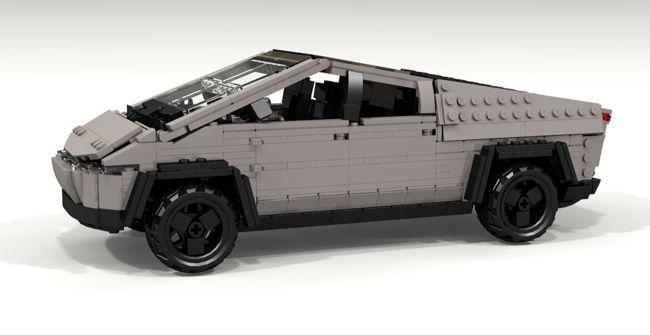 Gran diseño de Tesla por Lego