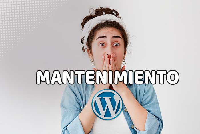 Mantenimento Web en WordPress