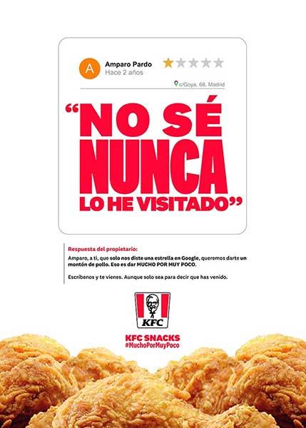 KFC redes sociales