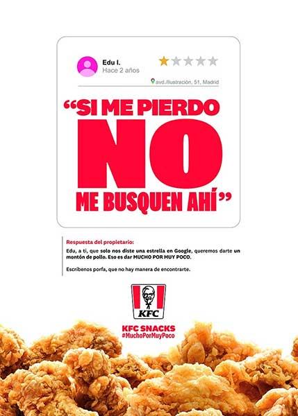 Contestaciones CM KFC