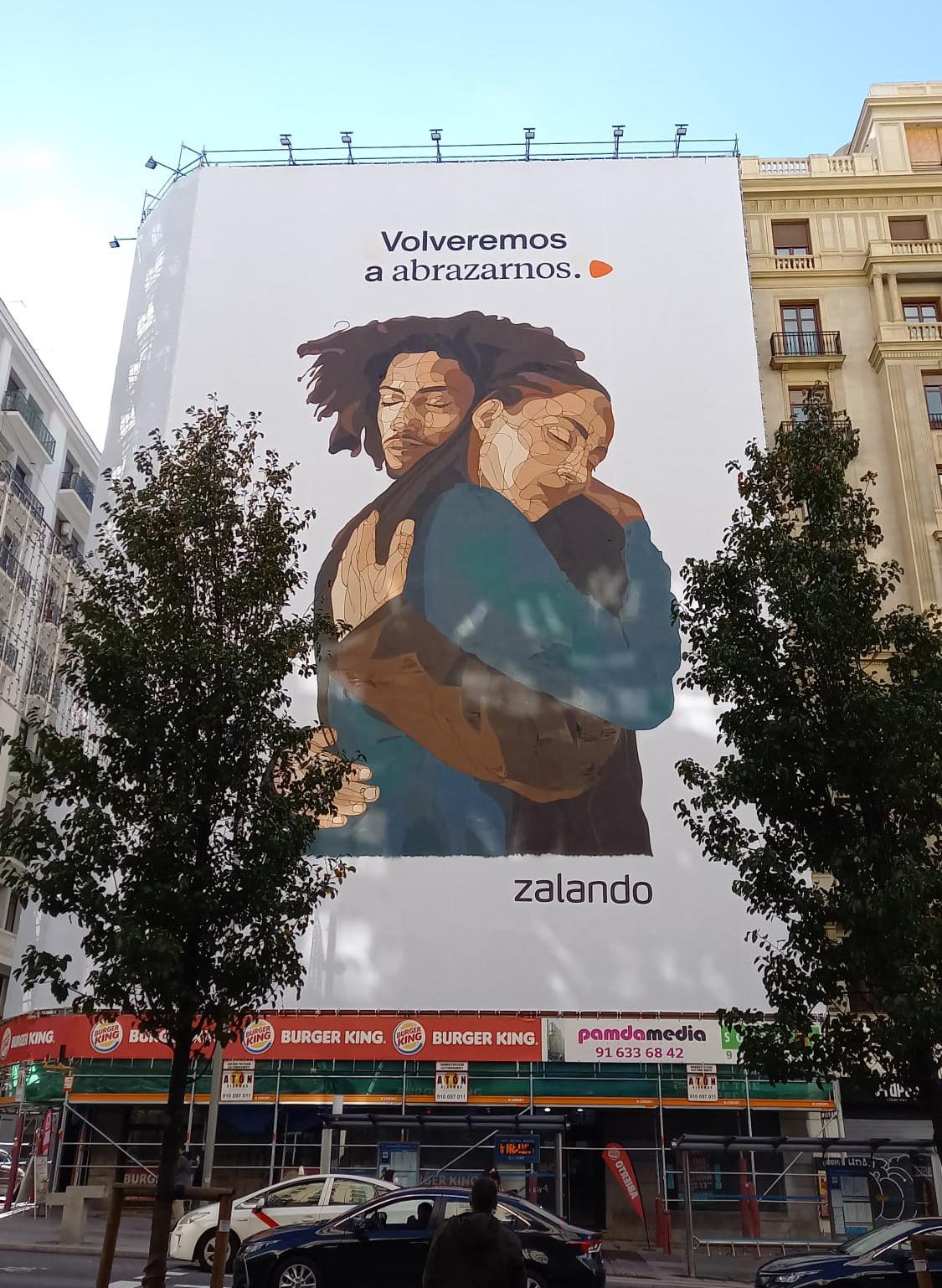 Zalando Madrid volveremos a abrazarnos