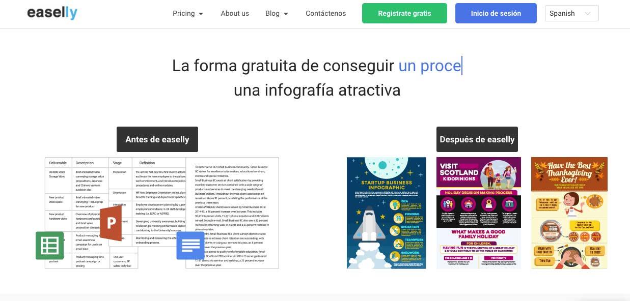 Programa para realizar infografías GRATIS