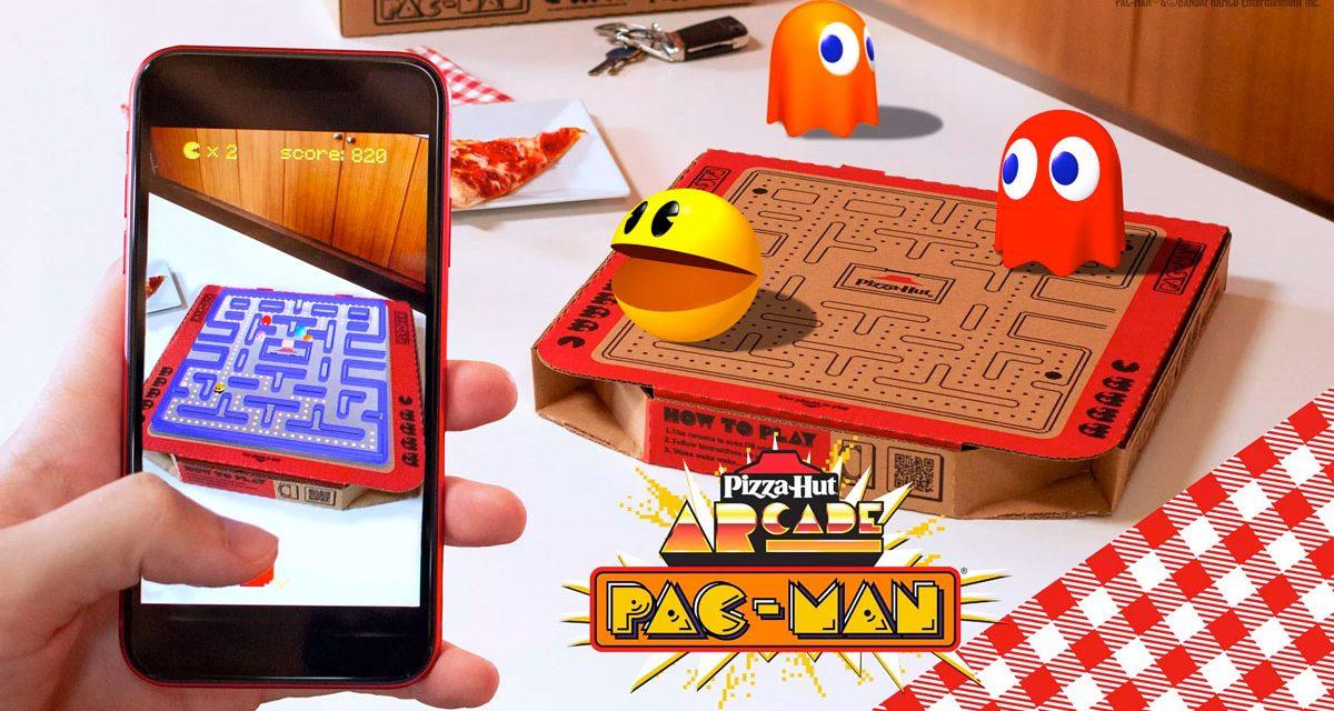 Pizza Hut convierte sus cajas en un videojuego
