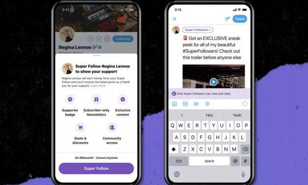 Twitter anuncia Super Follows de pago para poder cobrar por los tuits