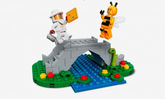 El caballero desafortunado de LEGO